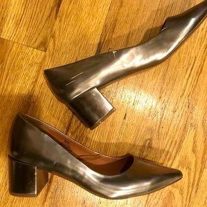 H&M Rock and Roll Metallic Shoes